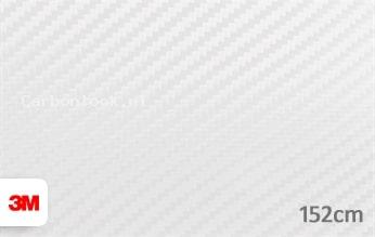 3M 1080 CFS10 Carbon Fiber White